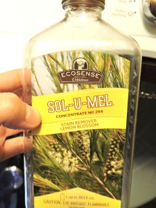 Melaleuca's Sol-u-mel helps rid the smell from diapers too =]